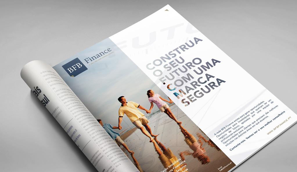 BFB Finance - anúncio na Revista Negócios & Franchising.